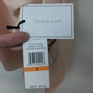 1. State Tops - 1. State Dramatic Pause Blush Top, Small